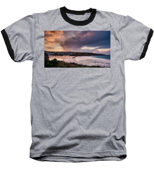 Porthmeor In The Sky Baseball T-Shirt