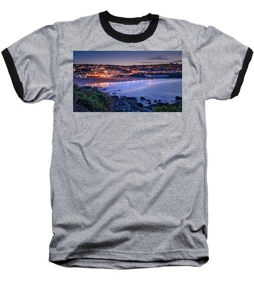 Porthmeor - Long Exposure Baseball T-Shirt