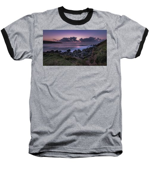 Porthmeor Sunset - Cornwall Baseball T-Shirt