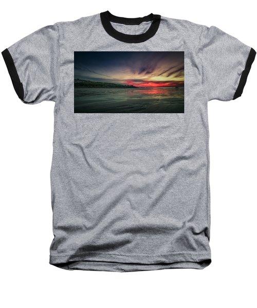 Porthmeor Sunset Version 2 Baseball T-Shirt