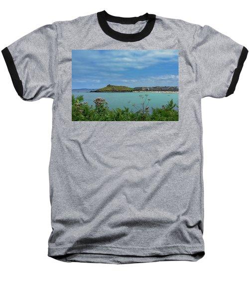 Porthmeor View On The Island Baseball T-Shirt