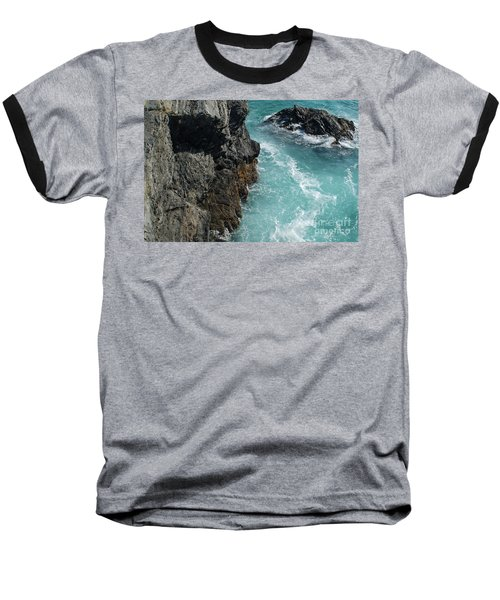 Porto Covo Cliff Views Baseball T-Shirt