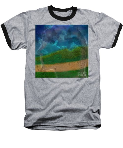 Portrait Of Time Baseball T-Shirt