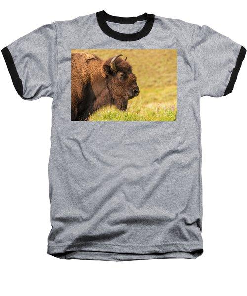 Power Head Baseball T-Shirt