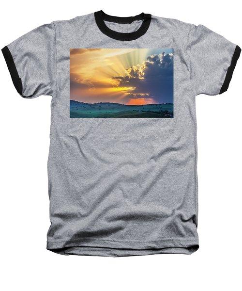 Powerful Sunbeams Baseball T-Shirt