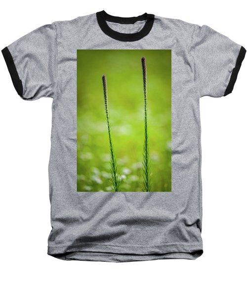 Prairie Blazing Star Baseball T-Shirt