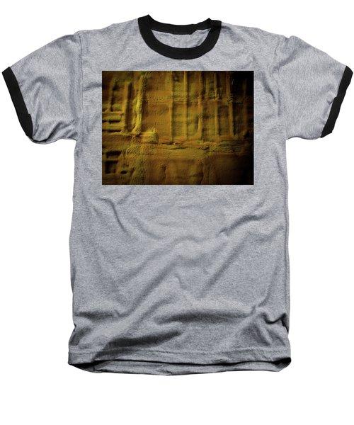 Prehistoric Scene Baseball T-Shirt