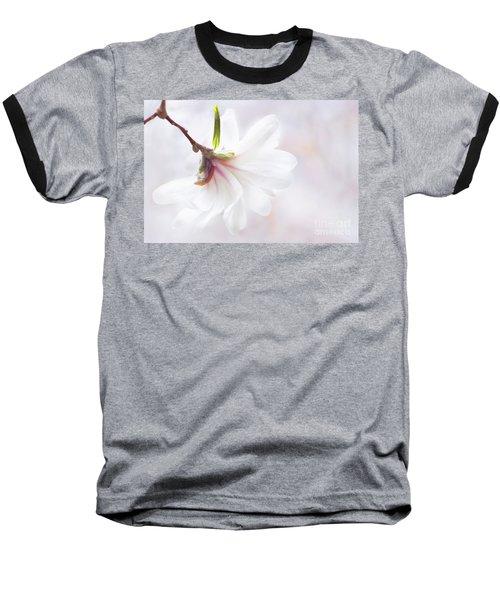 Pretty In Pastel Star Magnolia Baseball T-Shirt