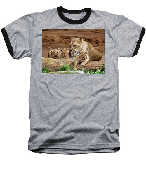 Pride Of The Pride 6114 Baseball T-Shirt