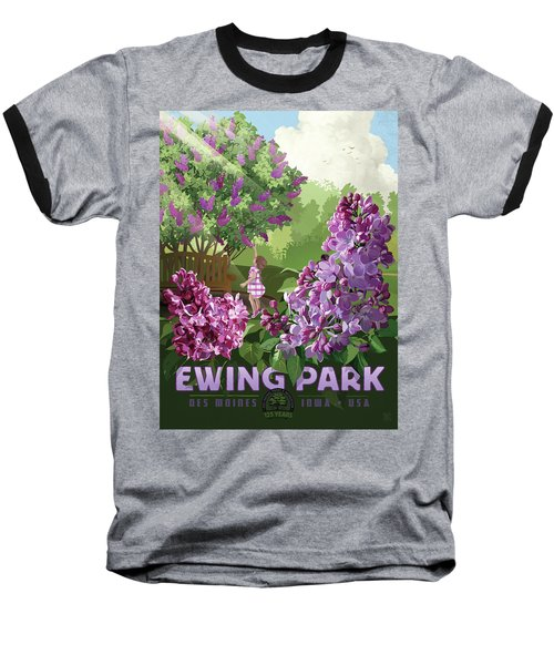 Print Baseball T-Shirt