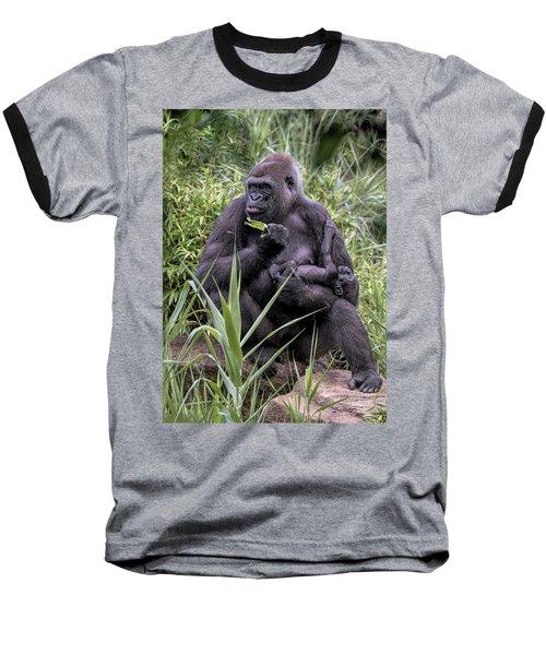 Proud Mama Silverback 6243 Baseball T-Shirt