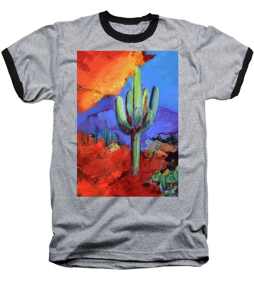 Under The Sonoran Sky By Elise Palmigiani Baseball T-Shirt