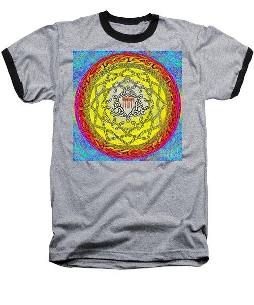 Psalm 37 Baseball T-Shirt