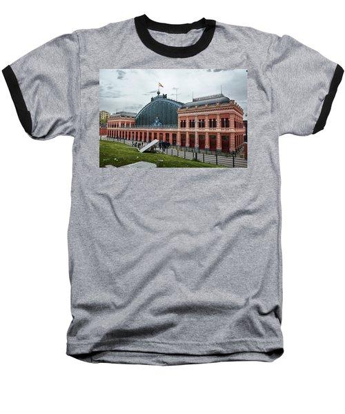 Baseball T-Shirt featuring the photograph Puerta De Atocha Railway Station by Eduardo Jose Accorinti