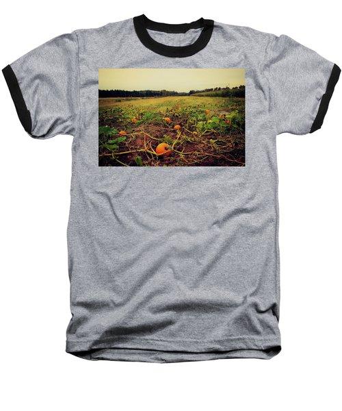 Pumpkin Picking Baseball T-Shirt