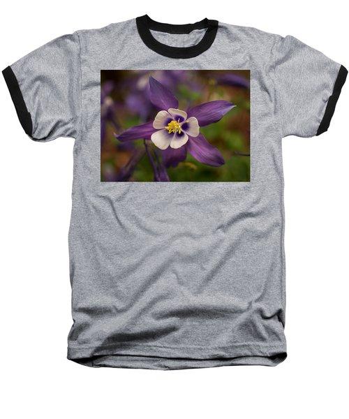 Purple Columbine Baseball T-Shirt