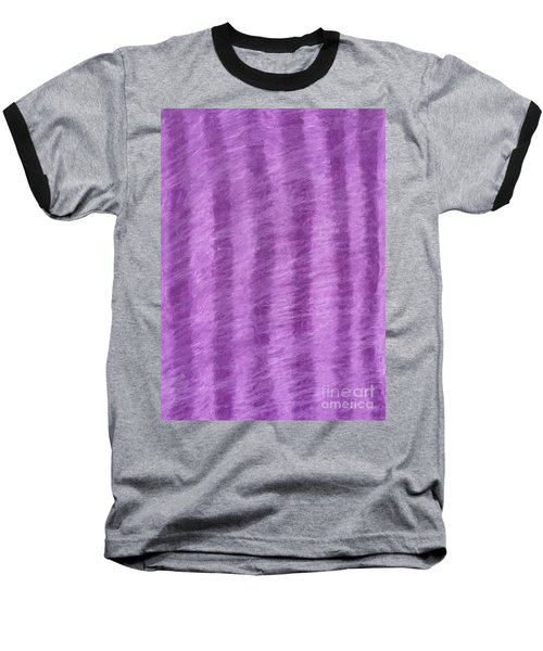 Purple Hazy Nights Baseball T-Shirt