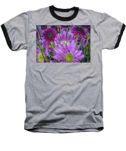 Purple Power Baseball T-Shirt