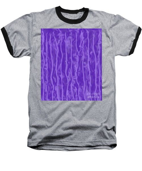 Purple Rain On My Window Baseball T-Shirt