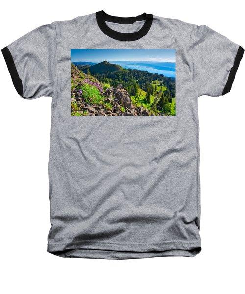 Purple Vista Baseball T-Shirt