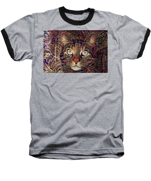 Mystic In Paisley Baseball T-Shirt