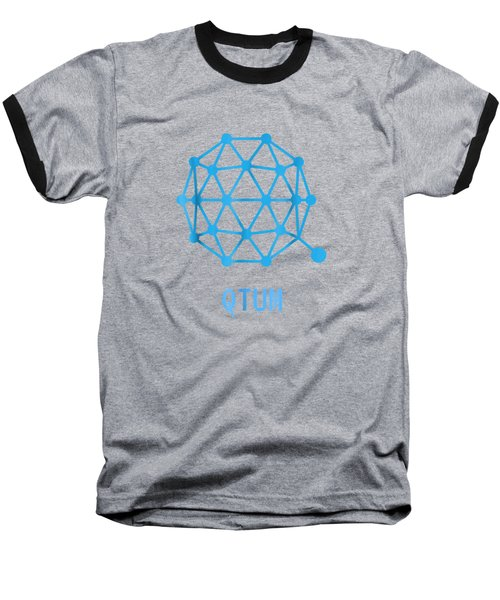 Qtum Cryptocurrency Crypto Tee Shirt Baseball T-Shirt