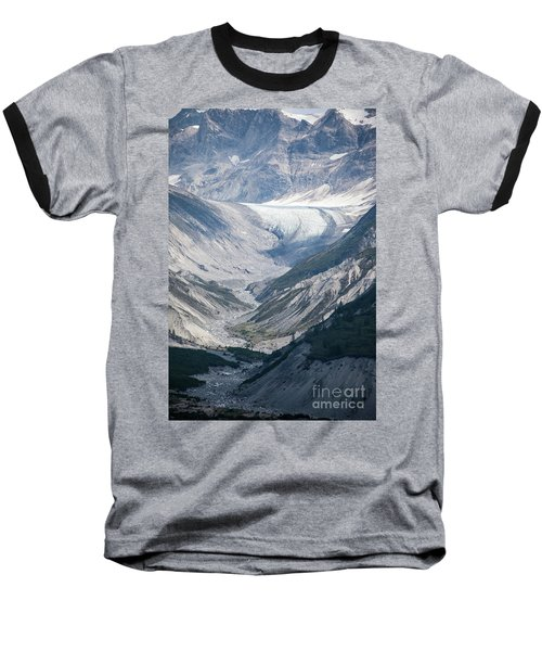 Queen Inlet Glacier Baseball T-Shirt