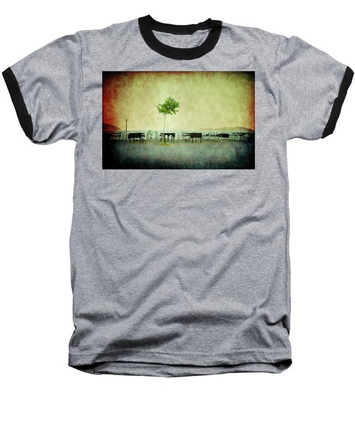Baseball T-Shirt featuring the photograph Quiet Evening by Milena Ilieva