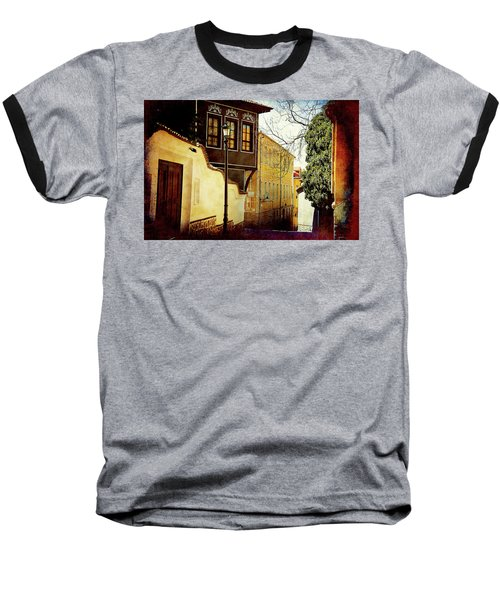 Baseball T-Shirt featuring the photograph Quiet Street by Milena Ilieva