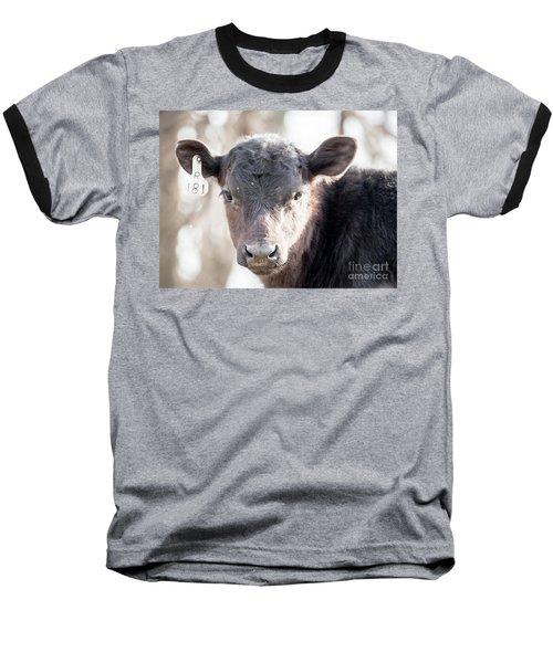 R181 Cow Baseball T-Shirt