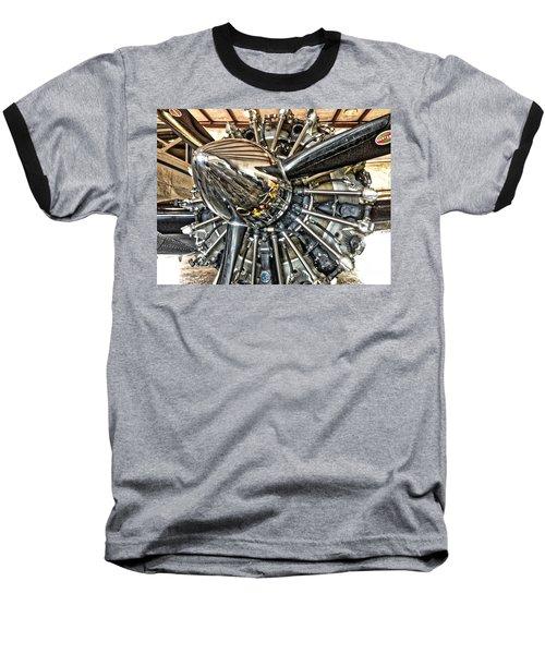 Radial Baseball T-Shirt