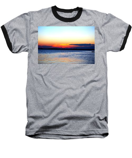 Radiant Sunset Baseball T-Shirt