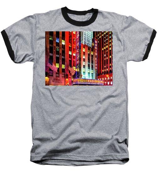 Radio City Music Hall Baseball T-Shirt