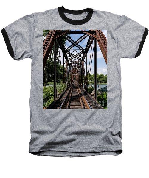 Railroad Bridge 6th Street Augusta Ga 1 Baseball T-Shirt