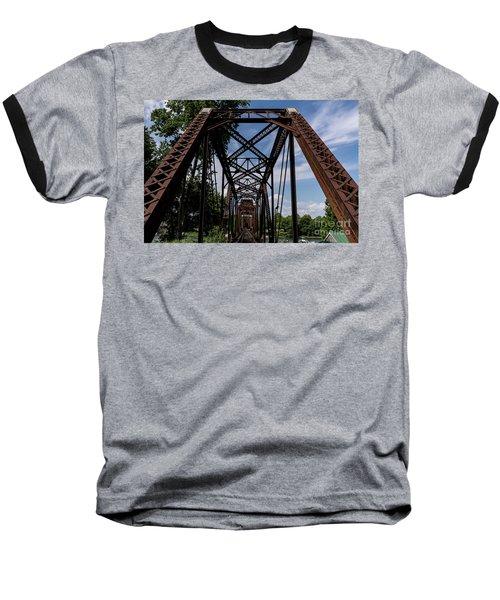 Railroad Bridge 6th Street Augusta Ga 2 Baseball T-Shirt
