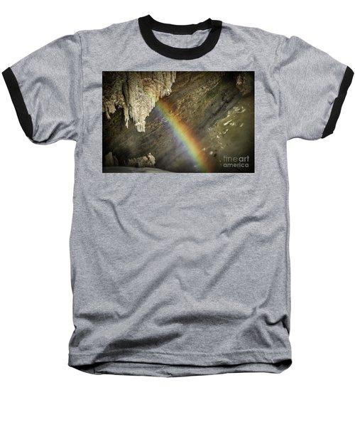 Rainbow At Letchworth Baseball T-Shirt