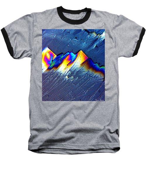 Rainbow Mountains Baseball T-Shirt