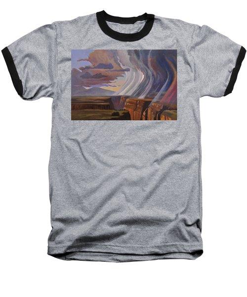 Rainbow Of Rain Baseball T-Shirt