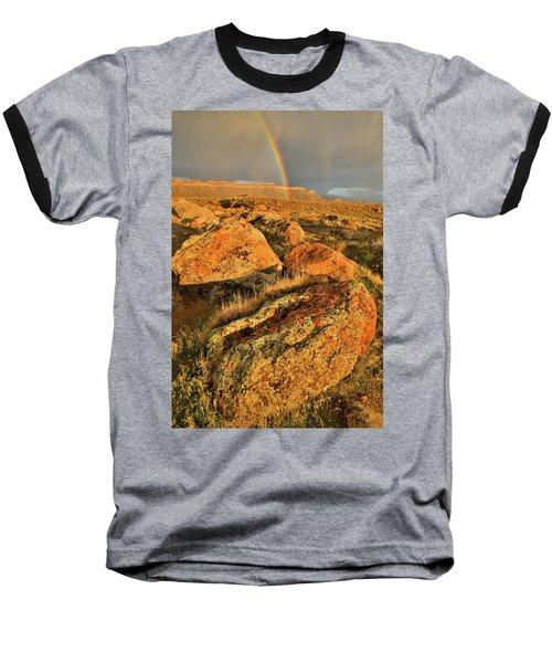 Rainbow Over The Book Cliffs Baseball T-Shirt