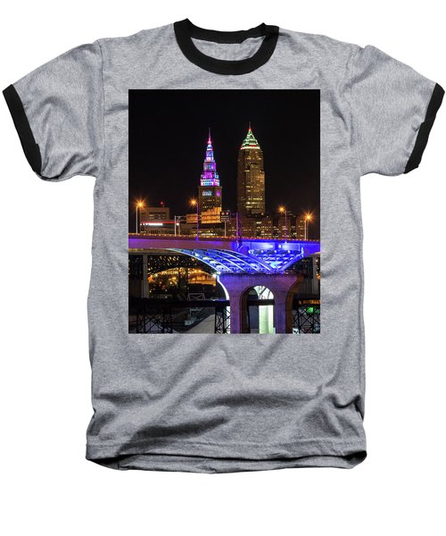 Rainbow Tower In Cleveland Baseball T-Shirt