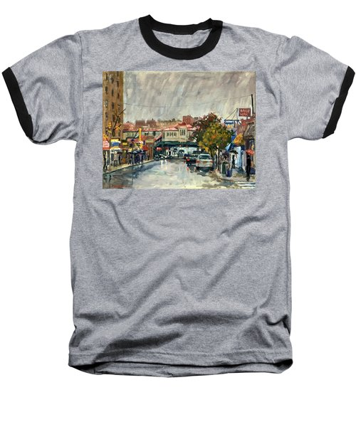 Rainy Morning 231st Street The Bronx Baseball T-Shirt