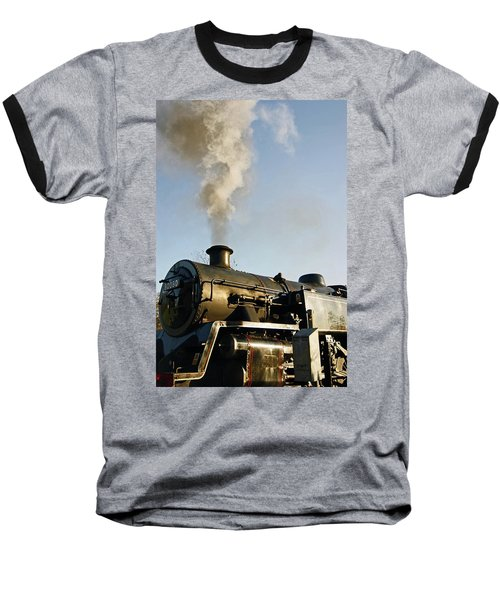 Ramsbottom. East Lancashire Railway. Locomotive 80080. Baseball T-Shirt