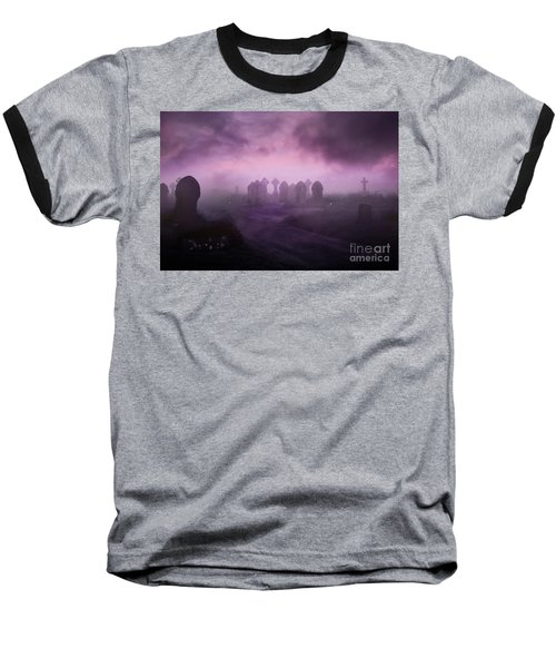 Rave In The Grave Baseball T-Shirt