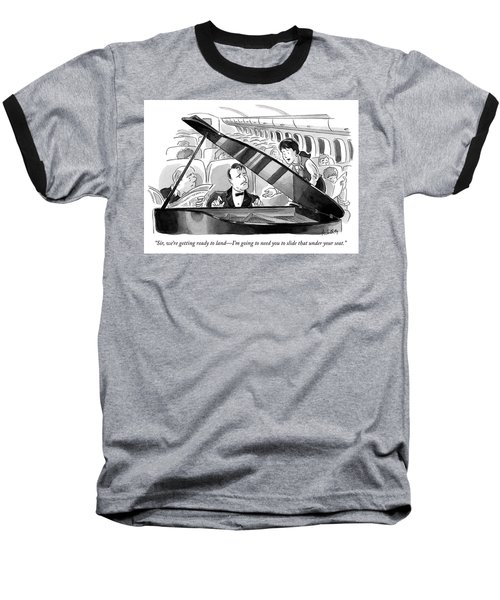 Ready To Land Baseball T-Shirt