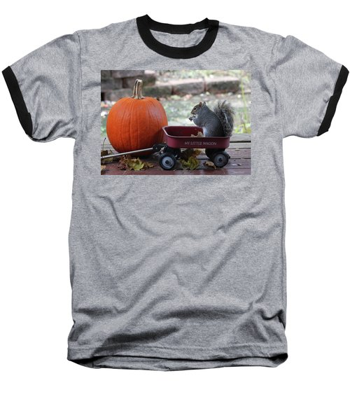 Ready To Ride My Little Red Wagon Baseball T-Shirt