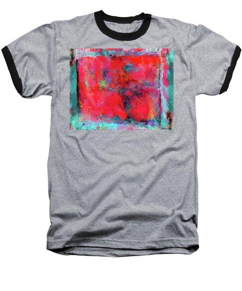 Rectangular Red Baseball T-Shirt