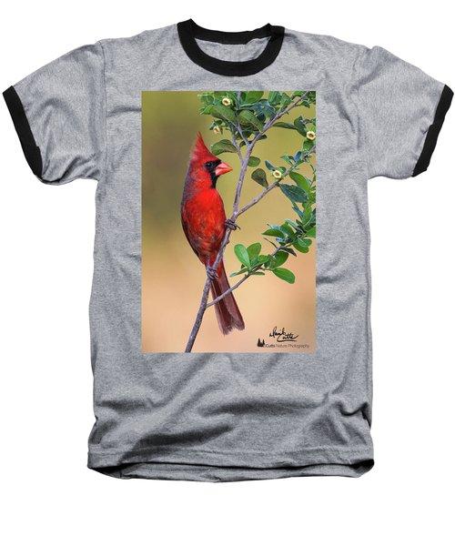 Red All Over Baseball T-Shirt