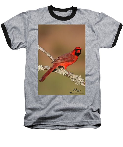 Red And Radiant Baseball T-Shirt