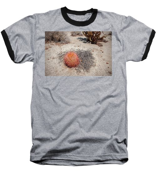Red Barrel Cactus And Mesquite Baseball T-Shirt