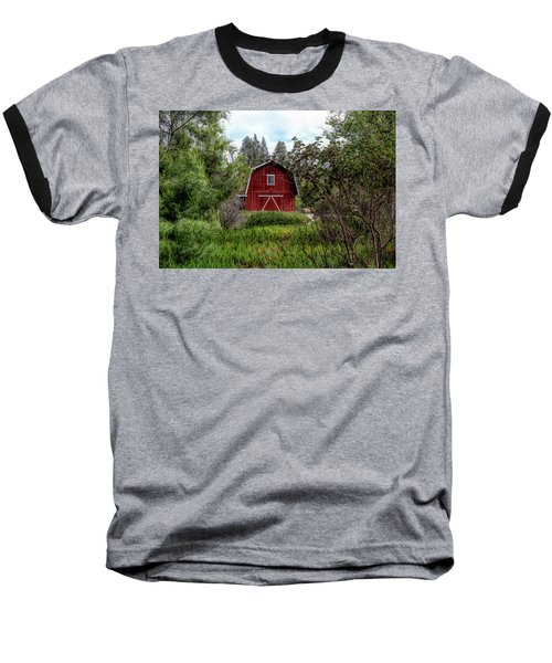 Red House Over Yonder Baseball T-Shirt